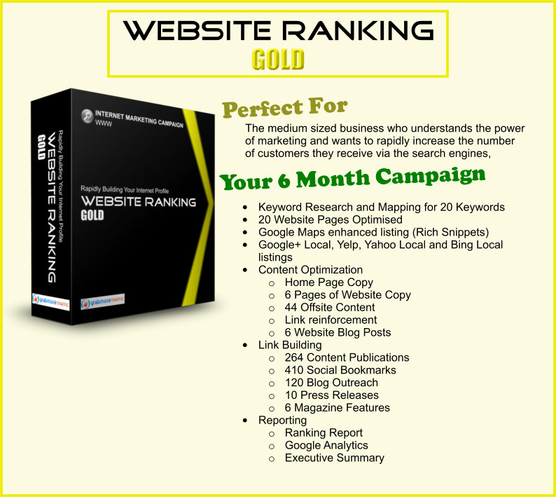 grab more traffic website ranking gold - how to get more customers