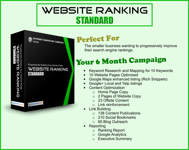grab more traffic website ranking standard - how to get more customers