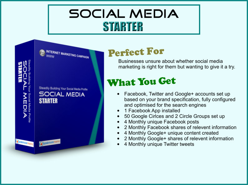 grab more traffic social media starter - how to get more customers